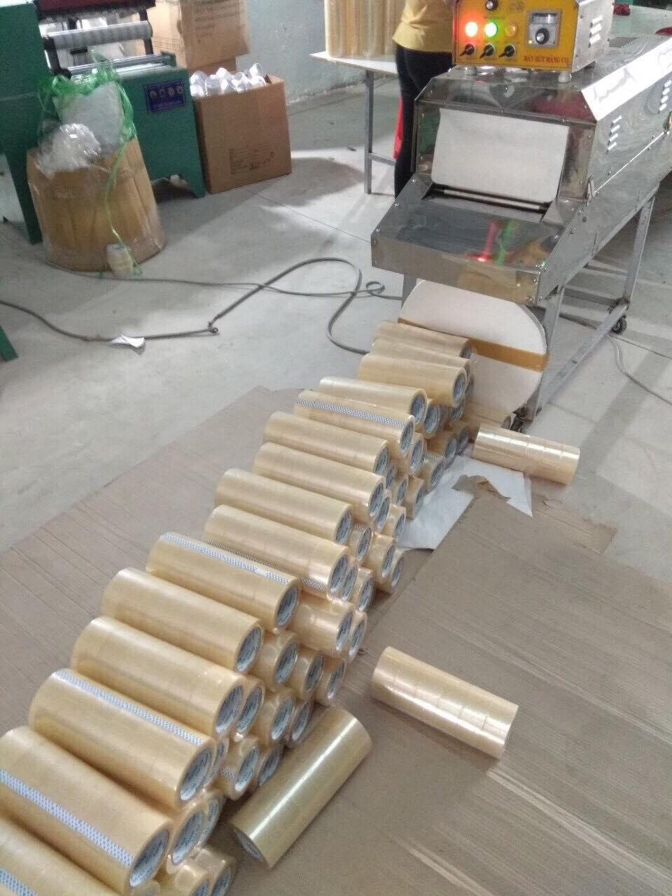 Quy trình sản xuất băng keo bằng công nghệ cao hiện nay